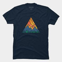 Sunrise on the mountain. T-Shirt.