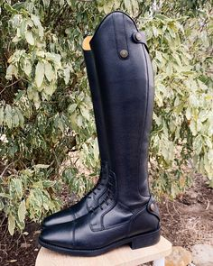 Riding boots Latinium Style Short Height Real Leather, Soft Leather, Cool Boots, Memory Foam, Rubber Rain Boots, Riding Boots, Equestrian, Collection, Fashion