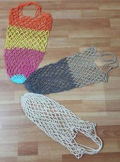 Mesh Market Net Making Net Making, Knitted Baby Clothes, Net Bag, Crochet Videos, Market Bag, Cute Bags, Handmade Bags, Cover Design, Baby Knitting