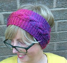 Check out this item in my Etsy shop https://www.etsy.com/uk/listing/523825449/knitted-headband-ear-warmer-multi-colour