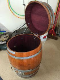 My Wine Barrel Smoker: My Wine Barrel Smoker Build