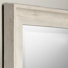 8f2a59da908e John Lewis & Partners Coastal Texture Full Length Mirror, 120 x 40cm, White
