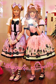 Maki & Asuka, Angelic Pretty Paris 2010