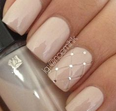 I really want nice nails like these ~_~