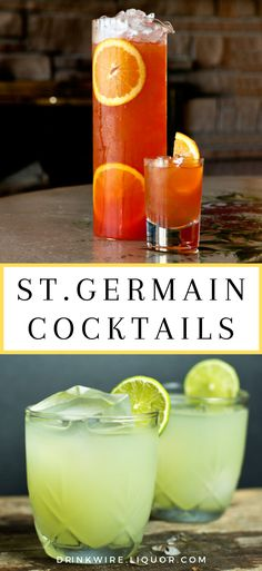 This list of St. Germain cocktails has everything you may want or need. From gin… This list of St. Germain cocktails has everything you may want or need. From gin, tequila and rum cocktails- there's something for everyone. Cocktails Vodka, Cocktail Drinks, Alcoholic Drinks, Beverages, Cocktail Recipes With Rum, Drink Recipes, Pina Colada, Tequila, Energy Drinks