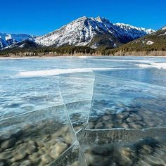 Abraham Lake, Alberta. Photo by @stevint #TourThePlanet