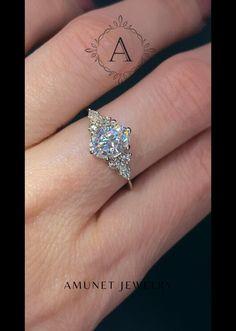Most Beautiful Engagement Rings, 3 Stone Engagement Rings, Engagement Ring Cuts, Engagement Photos, Wedding Bands, Wedding Stuff, Dream Wedding, Wedding Ideas, Alternative Wedding Rings