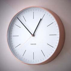 Horloge minimale