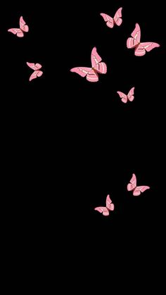 Butterfly wallpaper by Priisma - - Free on ZEDGE™ Butterfly Wallpaper Iphone, Black Phone Wallpaper, Phone Wallpaper Images, Funny Iphone Wallpaper, Cute Disney Wallpaper, Glitter Wallpaper, Pink And Black Wallpaper, Beautiful Wallpaper For Phone, Dark Background Wallpaper