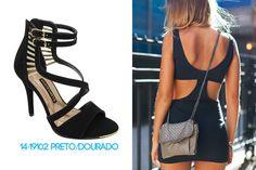 Garotas do Brasil – Via Marte - black - pretinho básico - preto -  salto alto - heels - party shoes