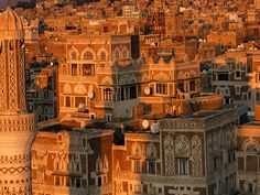 Old City of San'a'/Yemen Country Information, High Definition Pictures, Wallpaper Gallery, Old City, Beautiful Scenery, All Pictures, The Help, To Go, Mansions
