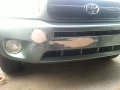 You can use simple filler to repair your damaged plastic bumper cover. Check out how we made the repair cheaply and quickly, including paint.