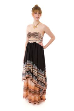 This Indian-inspired Free People dresses is super flattering as well as comfy to boot.