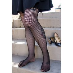 Sock Dreams Spandex Fishnet Pantyhose ($7) ❤ liked on Polyvore featuring intimates, hosiery, tights, fishnet pantyhose, dot tights, polka dot tights, spandex stockings and sheer dot tights