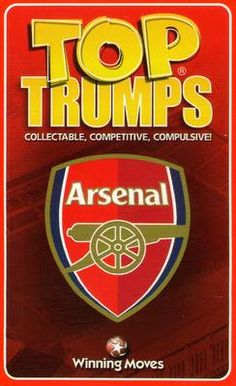 2003 Top Trumps Arsenal #NNO1 Title Card Front