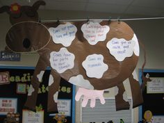 Mr. Brown Can Moo! Can You? On the spots have the children list all the sounds Mr. Brown can make.