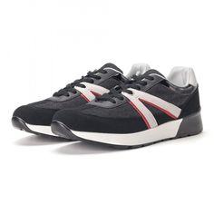 Ανδρικά μαύρα sneakers από συνδυασμό υφασμάτων it020618-19   Fashionmix.gr Sneakers, Shoes, Fashion, Tennis, Moda, Slippers, Zapatos, Shoes Outlet, Fashion Styles