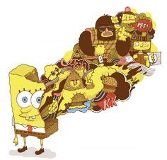Spongebob Squaregraphics