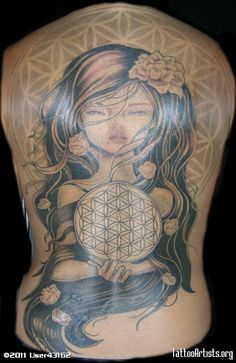 stoner tattoo flower of life photo