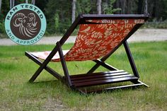 Ana White | Build a Wood Folding Sling Chair, Deck Chair or Beach Chair - Adult Size |DIY Project and Furniture Plans