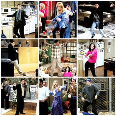Chandler Bing's school dance - Joey Tribbiani - Rachel Green - Monica Geller - Phoebe Buffay - Friends - F.R.I.E.N.D.S