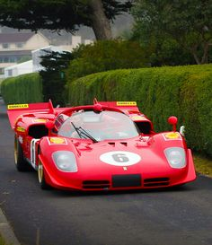 Ferrari 512 M, the fierce adversary of Porsche 917 in so many battles on early Seventies.