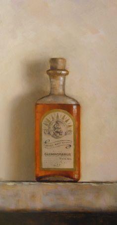 Glenmorangie - oil on panel. Neil Nelson.