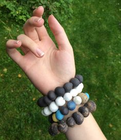 Bracelets by @saritaceramics