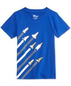 Epic Threads Little Boys' Rocket T-Shirt, Only at Macy's