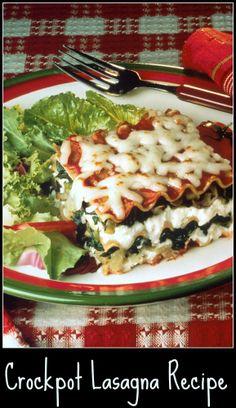 tasty #crockpot lasagna #recipe