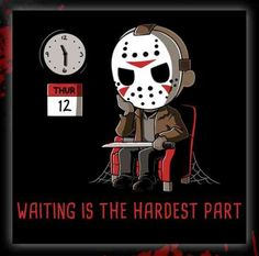 The best funny Friday the memes are here to make this day at least a bit less bad luck ridden, even for those of you who are aren't superstitious, so let some black cats and Jason Voorhees cheer you up until it's over! Horror Movies Funny, Horror Movie Characters, Scary Movies, Jason Voorhees, Friday The 13th Funny, Jason Friday, Friday Humor, Halloween Horror, Horror Art
