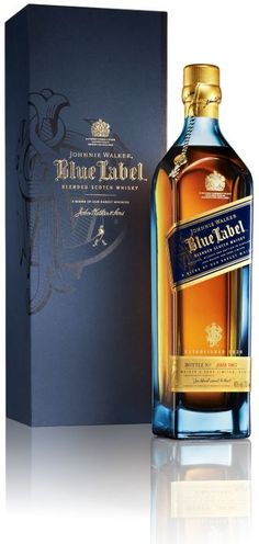 Johnnie Walker Blue...the ultimate in blended whisky!