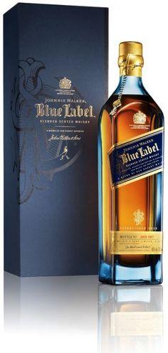 Johnnie Walker Blue Label: Para los amantes de las bebidas, pero sobre todo del whisky, nada mejor que un blue label. O la botella de su bebida favorita.
