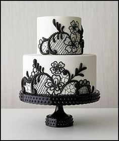 Hmm. This would go really well with a black & white wedding theme. Hmmmmm...
