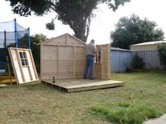 Cubbyhouse kits : Diy Handyman Cubby house : Cubbie house Accessories: Christine's Cubby Photo Gallery
