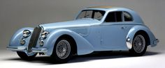 http://chicerman.com  carsthatnevermadeit:  Alfa Romeo 8C 2900 B Lungo 1938 byCarrozzeria Touring Superleggera. The long wheelbase version of the super-charged straight 8C in total 32 cars were built though a few had a body by Pininfarina  #cars