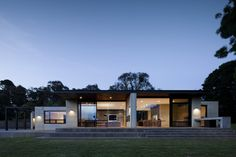 Stylish Updated House Inspiring Tranquility and Order in Merricks North, Australia