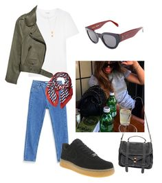 """Untitled #156"" by klara-engholm on Polyvore featuring NIKE, Yves Saint Laurent, Marc Jacobs, CÉLINE, Jennifer Zeuner, Acne Studios and Proenza Schouler"