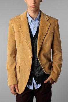 Urban Renewal Vintage Corduroy Blazer  - Urban Outfitters, $39.00