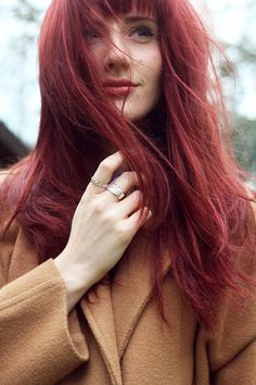 Wonderful_u wearing our Flock Eternity Ring and Wing Ring Rings And Wings, Uk Fashion, Vintage Fashion, Eternity Ring, Personal Style, Long Hair Styles, How To Wear, Style Blog, Beauty