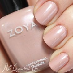 Zoya Pandora ($9, Zoya.com) is a mid-tone pink nude with a pearl shimmer (two coats).Top 10 Nude Nail Polish Colors for Spring 2014