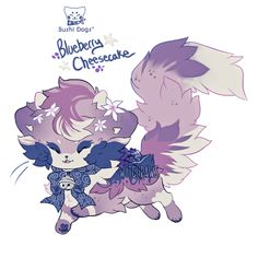 [Sushi Cat] Blueberry Cheesecake Auction - [CLOSED by witchpaws on DeviantArt