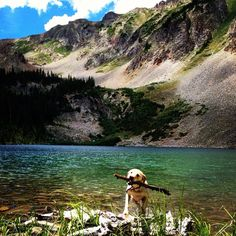 """Discovery by Annie Thompson: """"Beautiful lake nestled in the Castle Creek valley outside of Aspen CO. It's a 5.8 mile round-trip trail, topping out at 11,400 feet."""""""