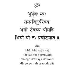 Resultado de imagem para gayatri mantra tradução