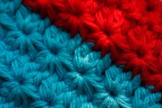 Crochet Star Stitch - great video tutorial