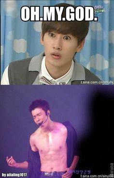 Don't worry Eunhyuk, I had the exact same reaction!