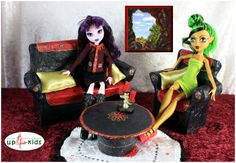 Wohnzimmer Sofa Sessel z.B. Monster Ever After High 22140001
