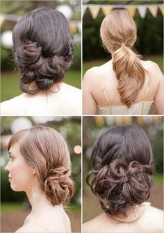 Awesome Different Bridesmaid Hairstyles For Long Hair