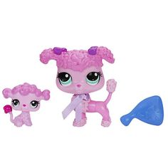 """Littlest Pet Shop Pet and Friend - Poodle and Baby Poodle - Hasbro - Toys """"R"""" Us"""