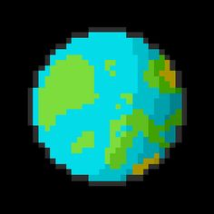 Welcome to my planet... Creepimus! | #pixelart #art #design #space